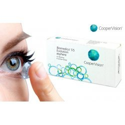 Biomedics 55 Evolution (6 contact lenses)