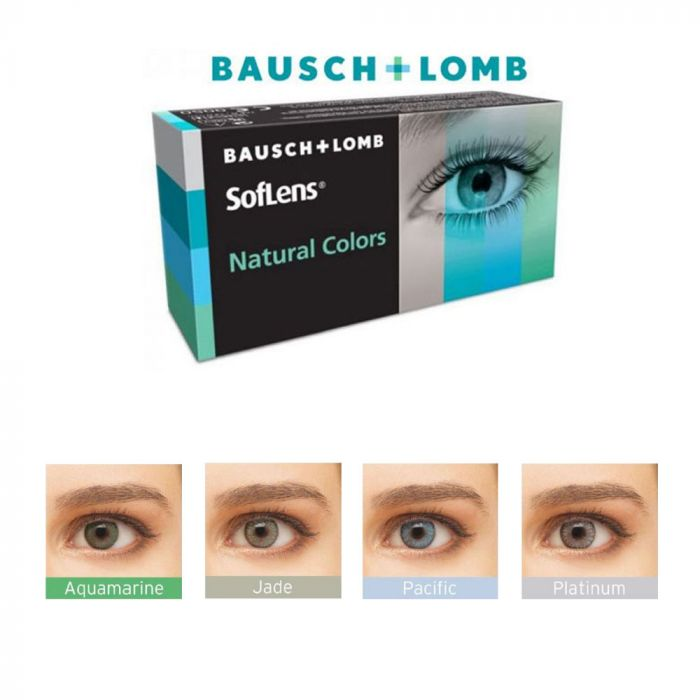2 Color Monthly Contact Lenses SofLens natural colors (SofLens natural colors)